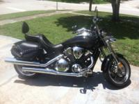 2008 Honda Vtx 1800, Garage kept, 7405 mi., several