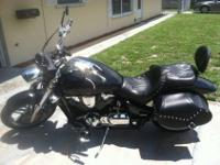Garage kept, 7405 mi., several custom accessories,