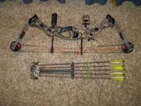 2008 compound bow made by hoyt....it is in excellent