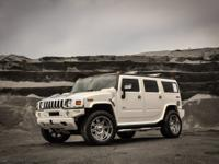 Only 62,704 Miles! This HUMMER H2 delivers a Gas V8