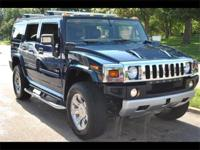 2008 HUMMER H2 LUXURY EDITION - ULTRA MARINE EXTERIOR