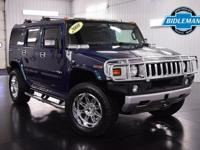 Options:  Pre-Owned 2008 Hummer H2 Suv|All Terrain Blue