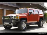 2008 HUMMER H3 Airbag Deactivation, Power Sunroof, Air