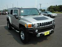New Arrival.. 4 Wheel Drive.. This Silver 2008 HUMMER