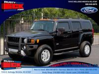 This 2008 Hummer H3 has a powerful 242hp 3.7 liter in