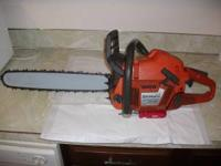This is a nice Husqvarna 357XP chainsaw. It is in good