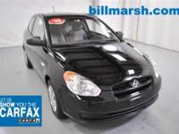 Accent GS, Cloth, Air Conditioning, CARFAX 1 OWNER, CD