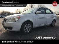 Great value in this 2008 Hyundai Accent GLS! Nicely