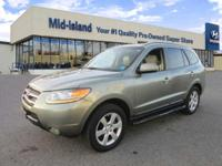 This 2008 Hyundai Santa Fe Limited is Well Equipped