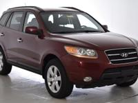 CARFAX One-Owner. This 2008 Hyundai Santa Fe Limited in