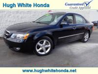 New Arrival! This 2008 Hyundai Sonata has a sharp! Our
