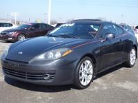 2008 HYUNDAI TIBURON 2dr Car GT Our Location is: Bob