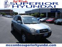 Safe and reliable, this Used 2008 Hyundai Tucson SE