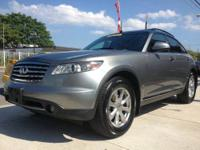NICE AND CLEAN FX35 AWD SUV! CLEAN CARFAX! CLEAN TITLE!
