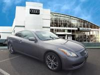 This Economy Certified 2008 INFINITI G37 Coupe Journey