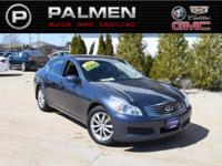Blue Slate 2008 INFINITI G35 X AWD 5-Speed Automatic