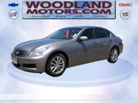 2008 INFINITI G35 Sedan Leather,Power Windows,AM/FM