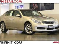 Options:  2008 Infiniti G35 X 4D Sedan|6 Speakers|Am/Fm