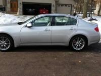 2008 Infiniti G35 X, 3.5L V-6 with 303hp. Has high