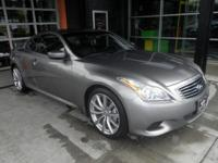 2008 Infiniti G37 2dr Rear-wheel Drive Coupe Our