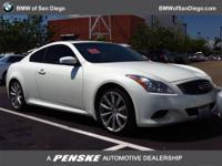 This 2008 Infiniti G37 Coupe 2dr 2dr Base Coupe