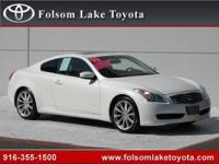 Folsom Lake Toyota presents this 2008 INFINITI G37