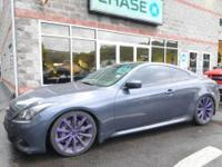 6 Speed 2008 Infiniti G37 Coupe! Styling, performance