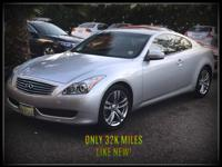 Options:  2008 Infiniti G37 Coupe