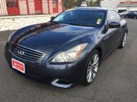 Graphite Leather. 2008 Infiniti G3726/17 Highway/City