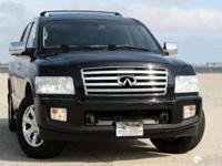 This 2008 Infiniti QX56 is a full-size luxury SPORT