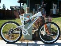 Hard to find 2008 Intense 6.6 mountain bike in great