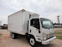 THIS 2008 ISUZU NQR BOX TRUCK JUST CAME IN. THIS 5.2L
