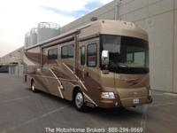 Model 40WD with 3 slide-outs. A luxury coach with great