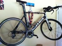 2008 Jamis Xenith T2 TT Bike w/SRAM Red components.