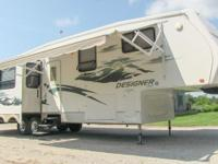 2008 Jayco Designer 35RLTS full loaded luxury fifth