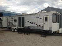 This is a 2008 Jayco Jay Flight Bungalow 40BHS and is