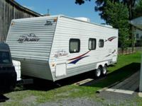 2008 Jayco 22R which is a 26 ft. long pull behind