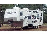 Length: 40 feet Year: 2008 Make: Jayco Model: Recon