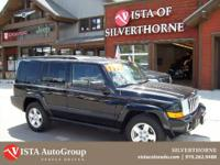This 2008 Jeep Commander has a clean Carfax and is
