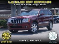 2008 JEEP GRAND CHEROKEE EQUIPPED WITH LEATHER INTERIOR