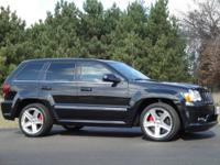 The SRT8 is the ultimate street machine, it comes with