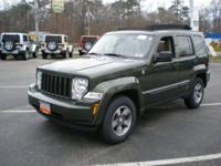 2008 JEEP Liberty In-Dash CD Radio, Covertible Roof