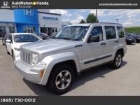 This 2008 Jeep Liberty features a CARFAX Buyback