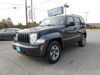 THIS IS A REALLY NICE 2008 JEEP LIBERTY SPORT 4WD GAS