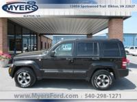 2008 Jeep Liberty Sport 4x4. Clean CarFax. Brilliant