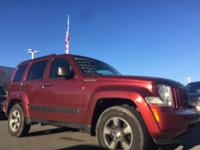This attractive 2008 Jeep Liberty is not going to