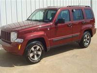 This 2008 Jeep Liberty 4dr Sport 4x4 features a 3.7L V6