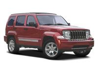 Recent Arrival! 2008 Jeep Liberty Sport Red 4WD