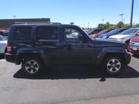 2008 Blue Jeep Liberty Sport 4WD. Priced below KBB Fair