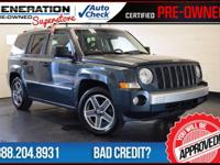 2008 Jeep Patriot. 5 speed! You'll NEVER pay too much